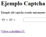 Captchas (2 Captcha básico con php)