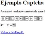 Captchas (3 Captcha arrastrar y soltar PHP + JQuery)