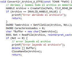 Conversor UTF8 - Windows1252