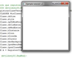 Tutorial WINAPI C++ 1.2 (Creación de una ventana)