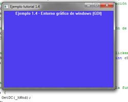 Tutorial WINAPI C++ 1.4 (Entorno gráfico de windows GDI)