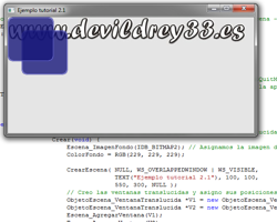 Tutorial WINAPI C++ 2.1 (Creación del ObjetoEscena)