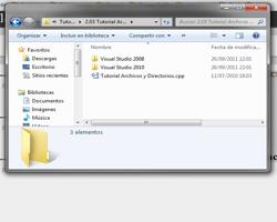 Tutorial WINAPI C++ 2.3 (Archivos y directorios)