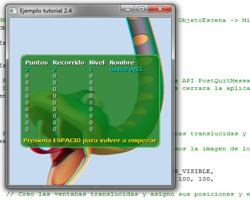 Tutorial WINAPI C++ 2.4 (Crear ObjetoEscena_Records)