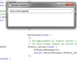 Tutorial WinAPI C++ 3.3 (Creación del ObjetoEditBox)