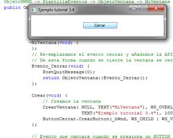 Tutorial WinAPI C++ 3.4 (Creación del ObjetoButton)