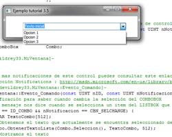 Tutorial WinAPI C++ 3.5 (Creación del ObjetoComboBox)