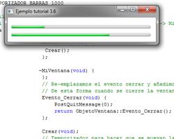 Tutorial WinAPI C++ 3.6 (Creación del ObjetoProgressBar)