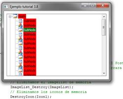Tutorial WinAPI C++ 3.8 (Creación del ObjetoTreeView)
